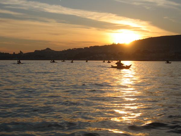 Coucher de soleil marseille kayak cassis - Coucher du soleil marseille ...